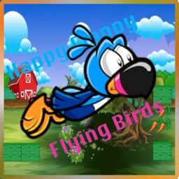 Happy Flappy Flying Birds Epic Free Saga