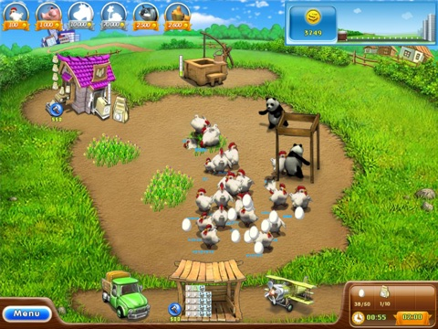 Farm Frenzy 2 HD для iPad