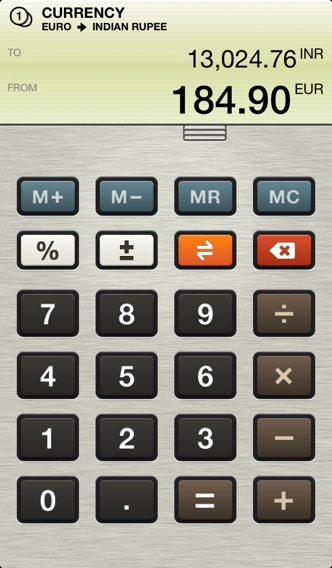 Units - Unit Converter for your iPhone screenshot one