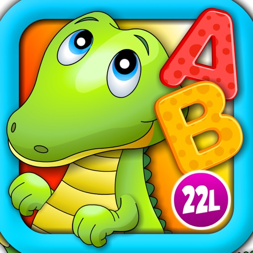 Alphabet Aquarium School Adventure Vol 1: Teachme Letters - Animated Puzzle Games for Preschool and Kindergarten Explorers by 22learn