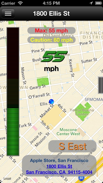 AutoDash - GPS Information and Location Sharing