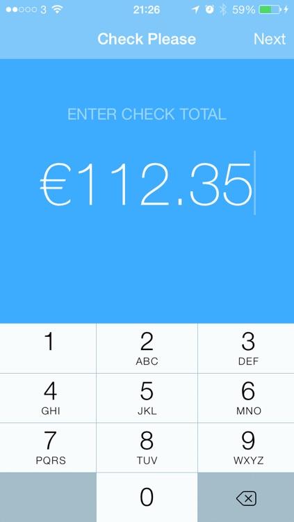Check Please - Tip & Check Split Calculator