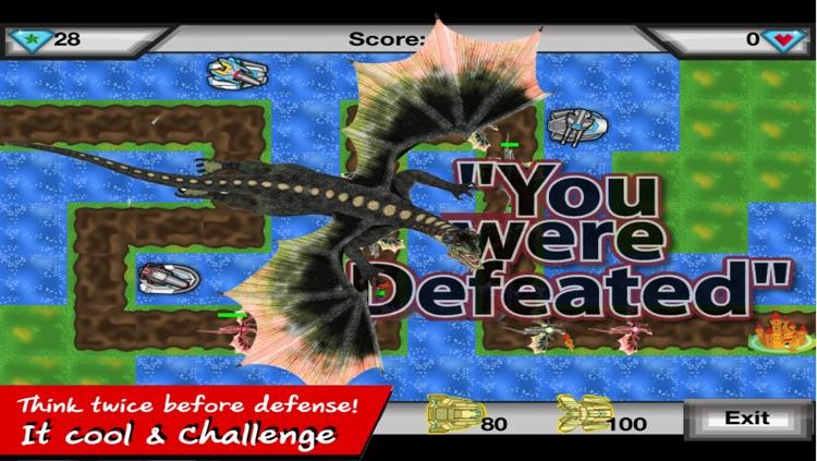 Dragon Defense - Shoot angry sky fly dragon skies screenshot-4