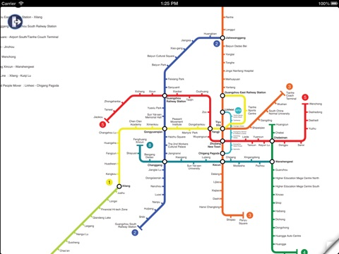 Guangzhou Metro Map And Route Planner App Price Drops