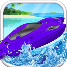 A Jet Boat Racer - A Speed-Boat Shooter Free Water Racing Game