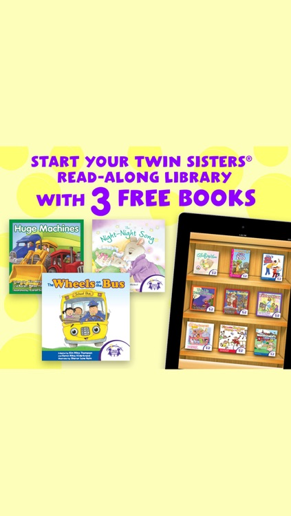 Twin Sisters Read Along Library