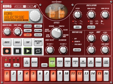Screenshot #5 pour KORG iELECTRIBE for iPad