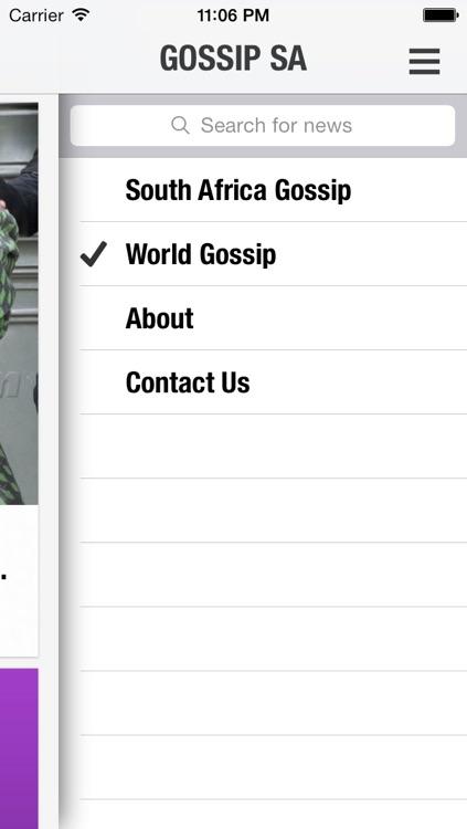 Gossip South Africa screenshot-4
