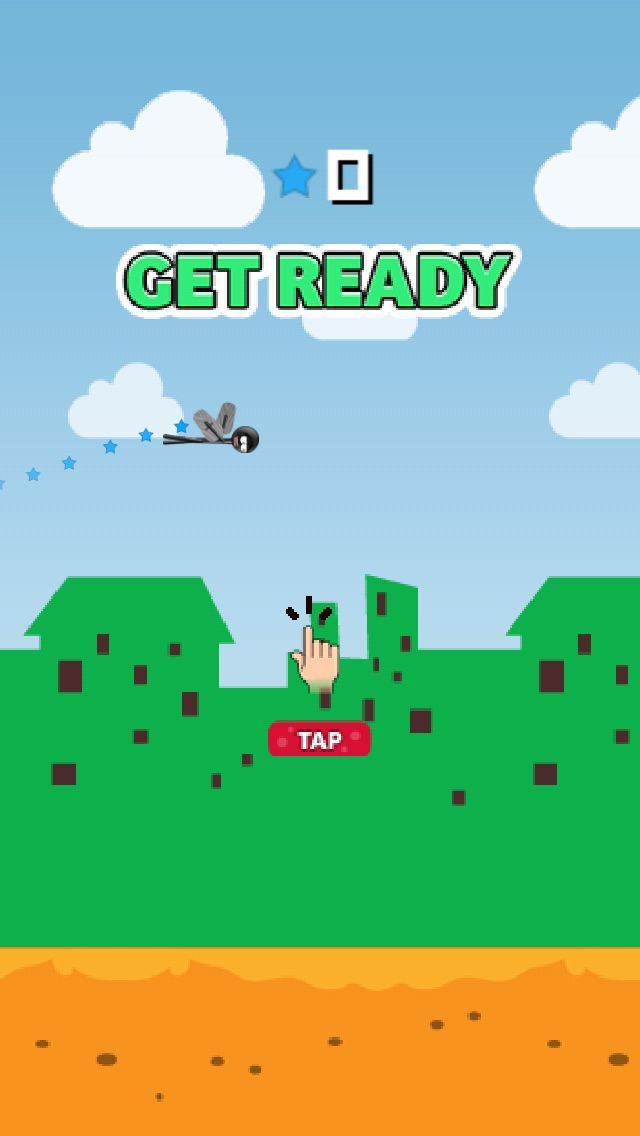 Sketchy Wings – the Flappy Stickman