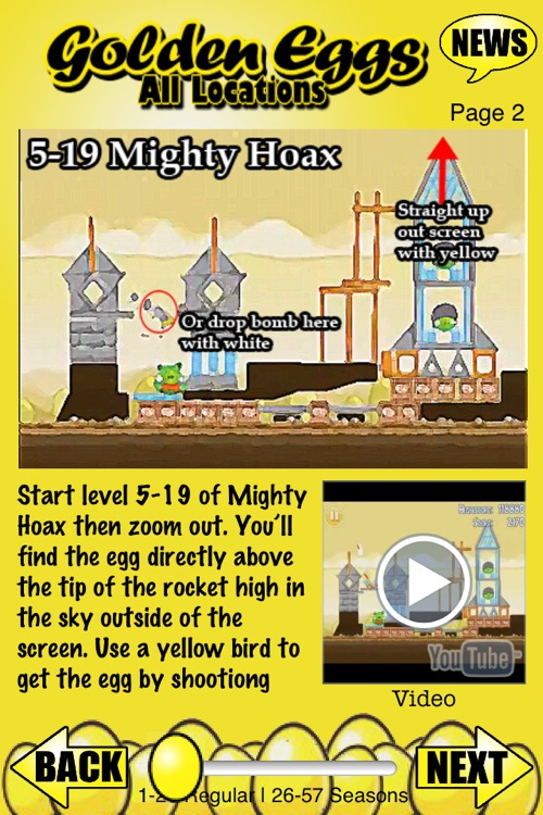All Golden Eggs for Angry Birds screenshot-3