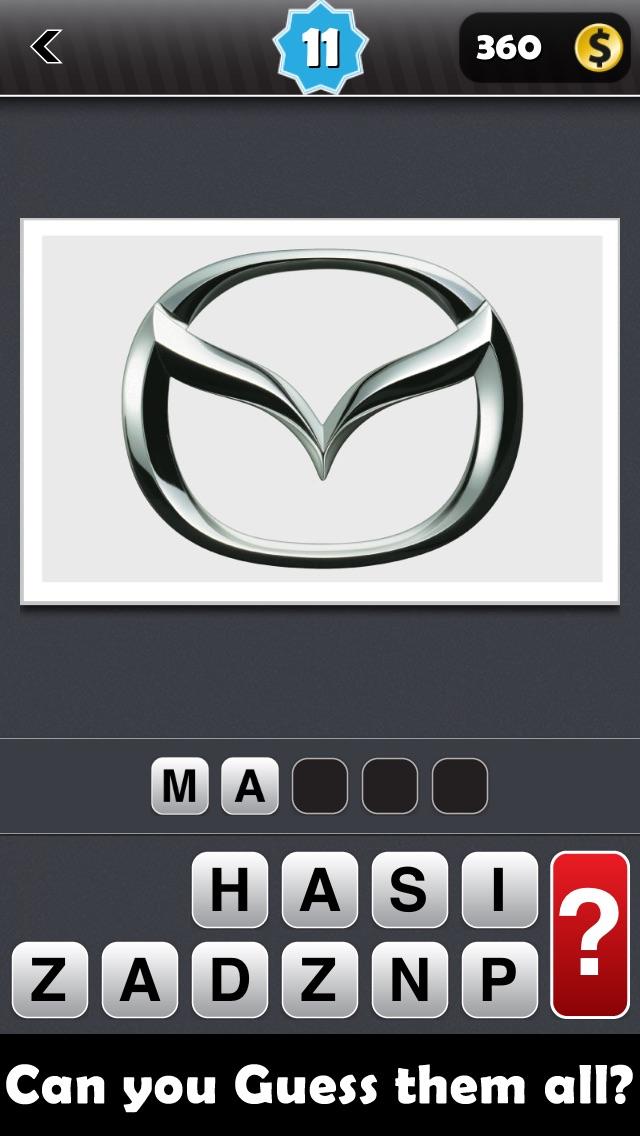 Guess the Logos (World Brands and Logo Trivia Quiz Game) Screenshot