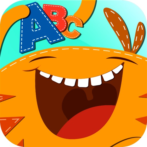 Monster Alphabet : Make Preschool Learning Fun - 8 Educational Games for Kindergarten Kids - letter tracing, coloring, reading & spelling, memory match, puzzle and quiz based on Montessori Method by A