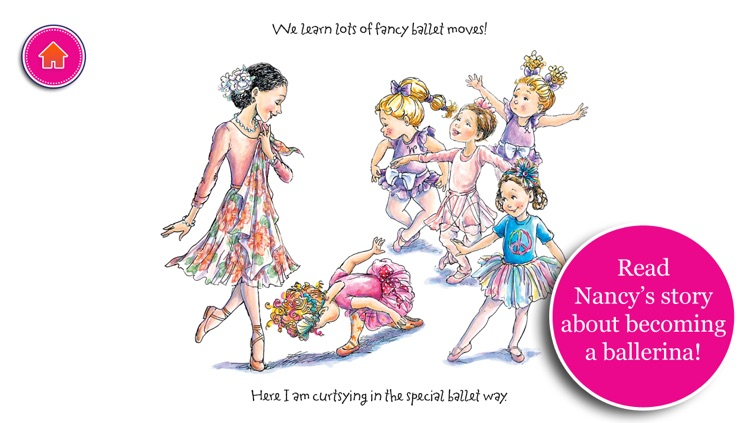 Fancy Nancy Ballet School screenshot-3