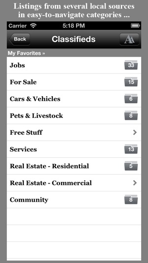 The Daily Planet Classifieds on the App Store