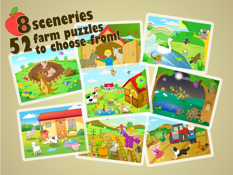 Farm Jigsaw Puzzles iPad Lite screenshot-4