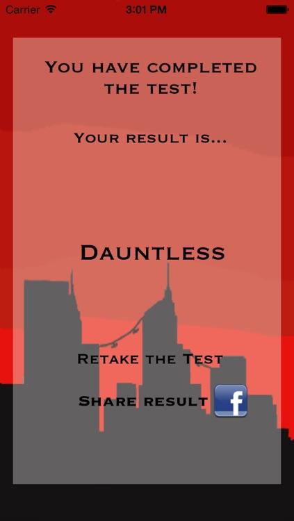 Faction Test