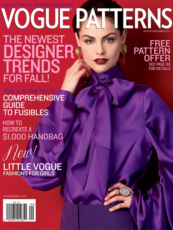 The Vogue Patterns Magazine