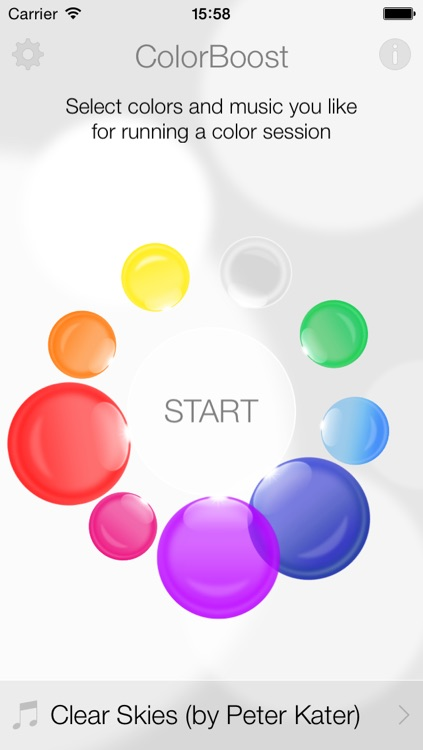 ColorBoost Pro - color, light and music relaxation sessions for well being