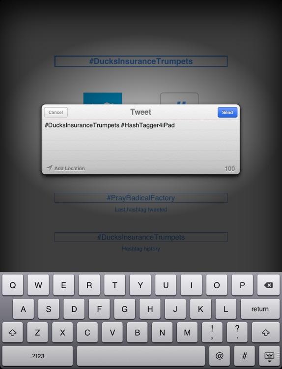 HashTagger for iPad screenshot-4