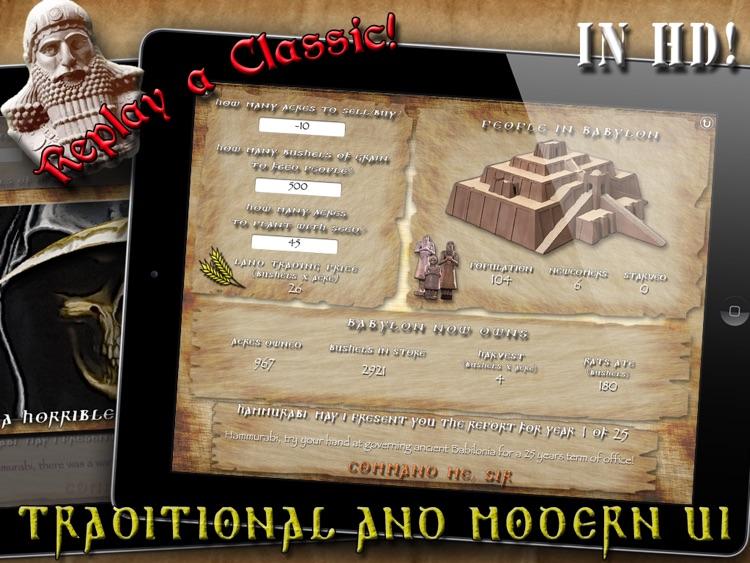 Hammurabi, The Game - HD screenshot-3