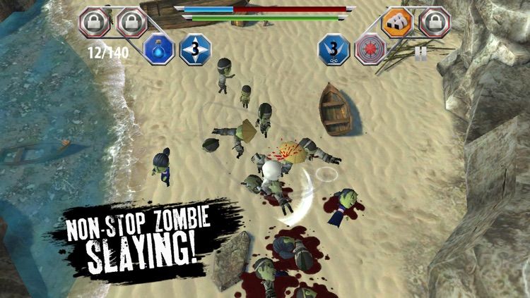 Finger Ninjas: Zombie Strike-Force screenshot-0