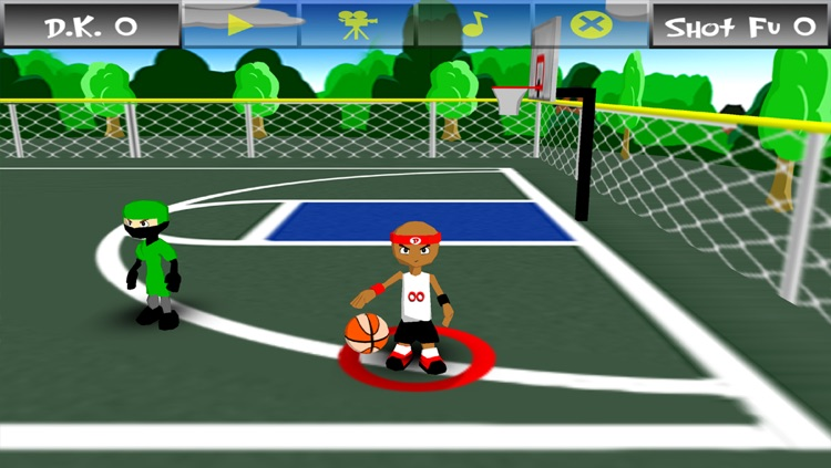 Funky Hoops Basketball screenshot-4