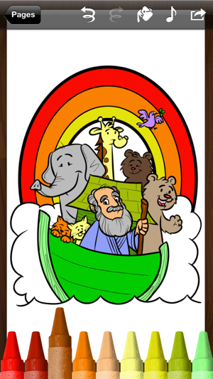 Bible Coloring Book + Christian coloring pages for kids on the App Store