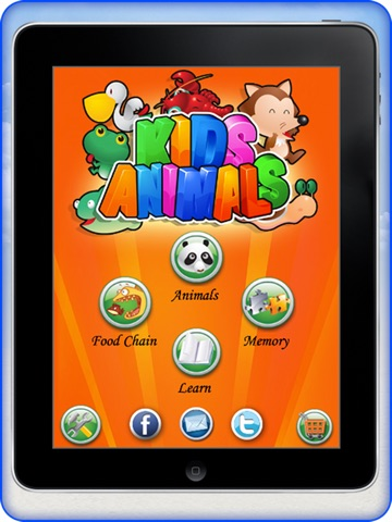 4 in 1 kids animal games screenshot