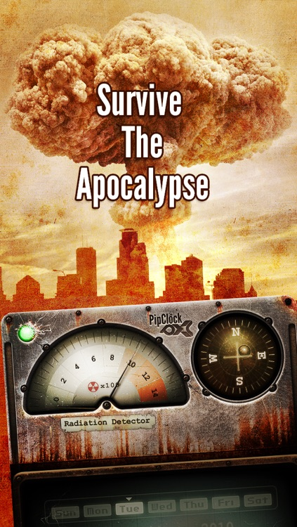 PipClock Nuclear Fallout Survival screenshot-4