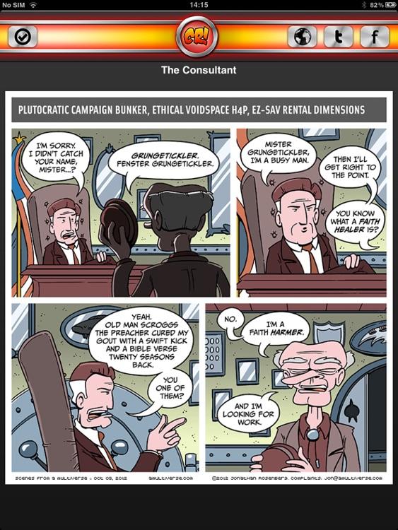 Comic Reader! screenshot-4