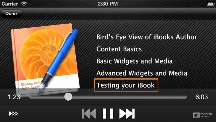 Course for iBooks Author 101 - iBooks Author Explored screenshot-4