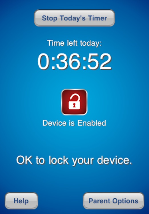 TimeLock - Time Limit for Parents