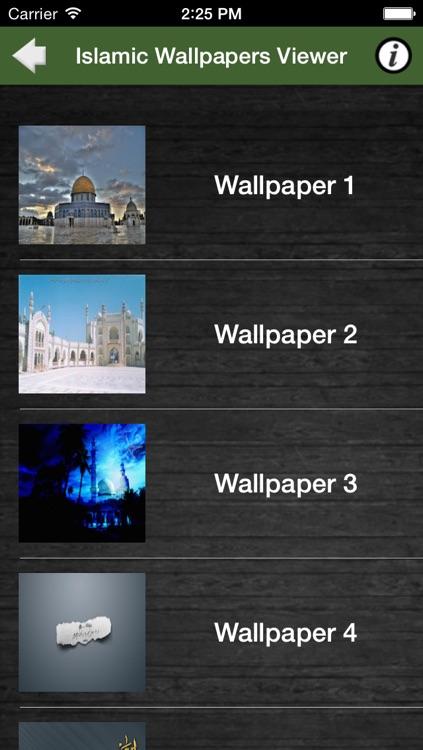 Islamic Wallpapers Viewer screenshot-3