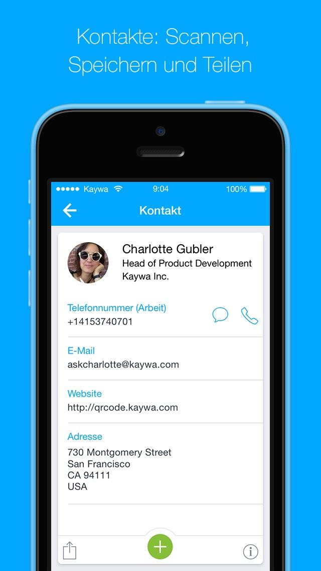 Der QR Code Reader von Kaywa - SCANNEN UND BROWSENScreenshot von 4