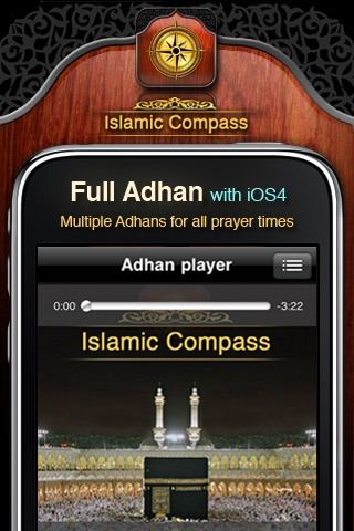Islamic Compass: Prayer Times & Athan Alarm