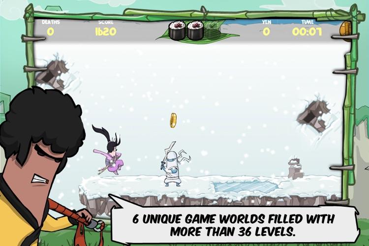 Kinito Ninja Lite screenshot-3