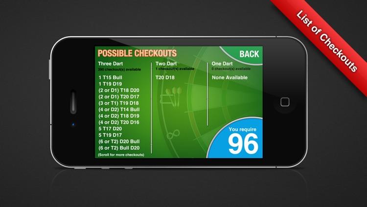 Game Shot Darts Scoreboard screenshot-3