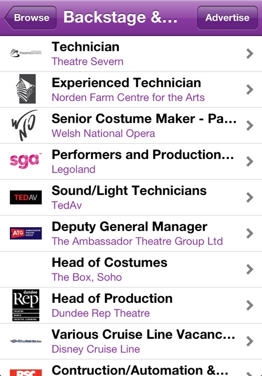 The Stage Jobs & Auditions