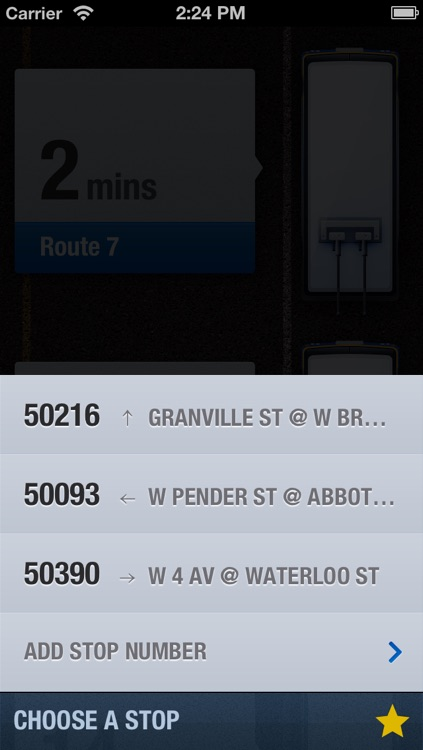 Buscouver - A Beautiful Vancouver Bus Times App screenshot-2