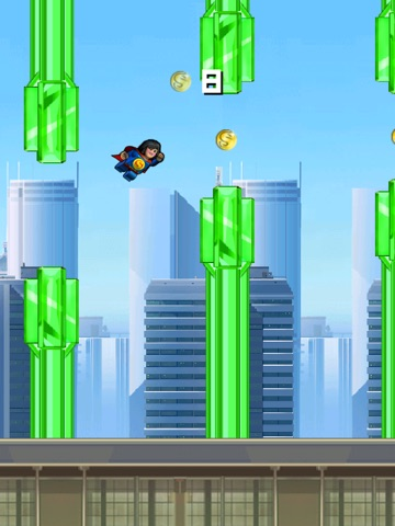 Super Flappy Justice League- Play Free Comic Hero Edition-ipad-3