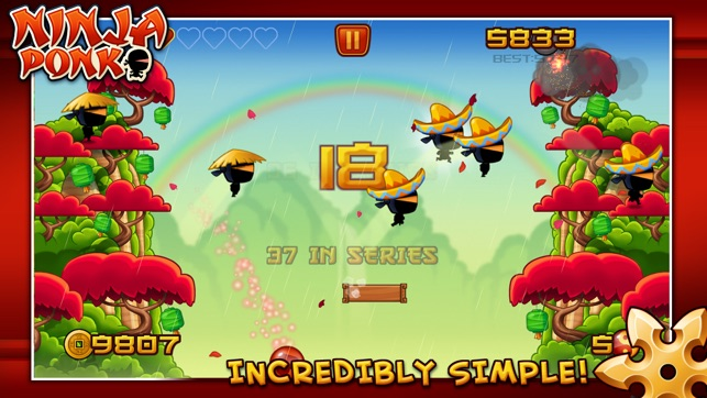 Ninja Ponk Screenshot