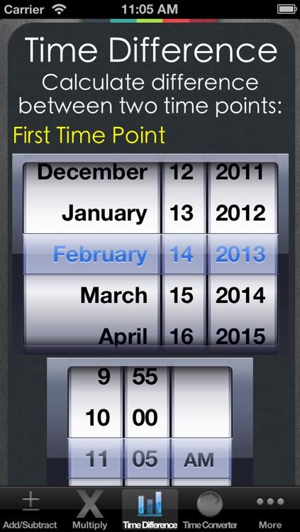 Date & Time Calculator (7 in 1)