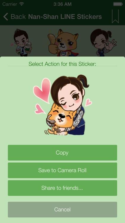Hangouts Sticker - Sticker & Emoji & Emoticon & Chat Icon for Google Hangouts screenshot-3