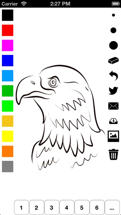 Independence Day Coloring Book for Children: Learn to draw and color icons of the United States of America
