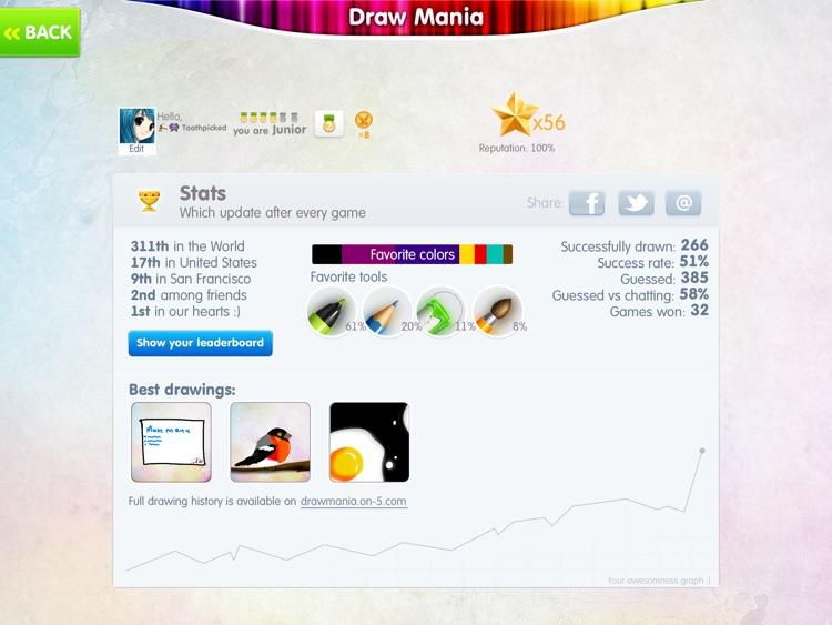 Draw Mania HD Free screenshot-3