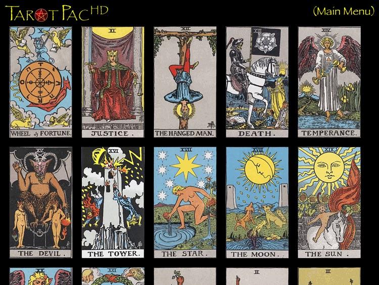 TarotPac Tarot Cards HD