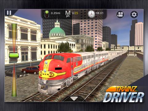 Trainz Driver - train driving game and realistic railroad simulatorのおすすめ画像2