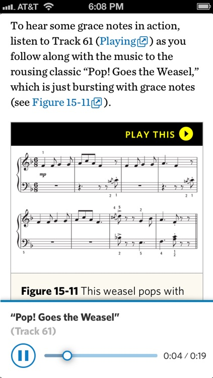Piano For Dummies - Official How To Book, Inkling Interactive Edition