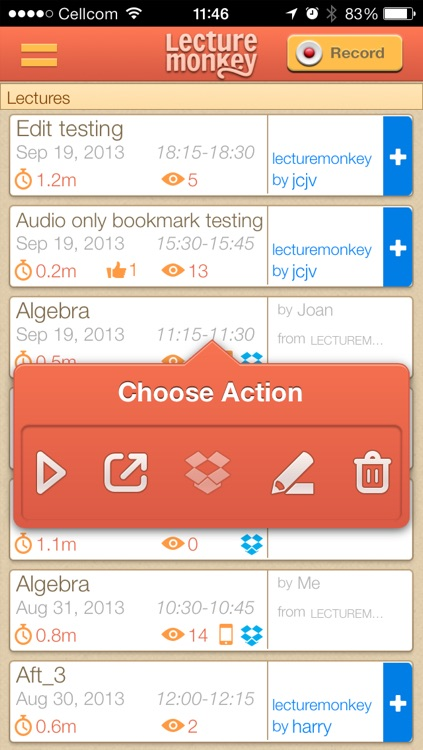 LectureMonkey - lecture recording and note taking assistant
