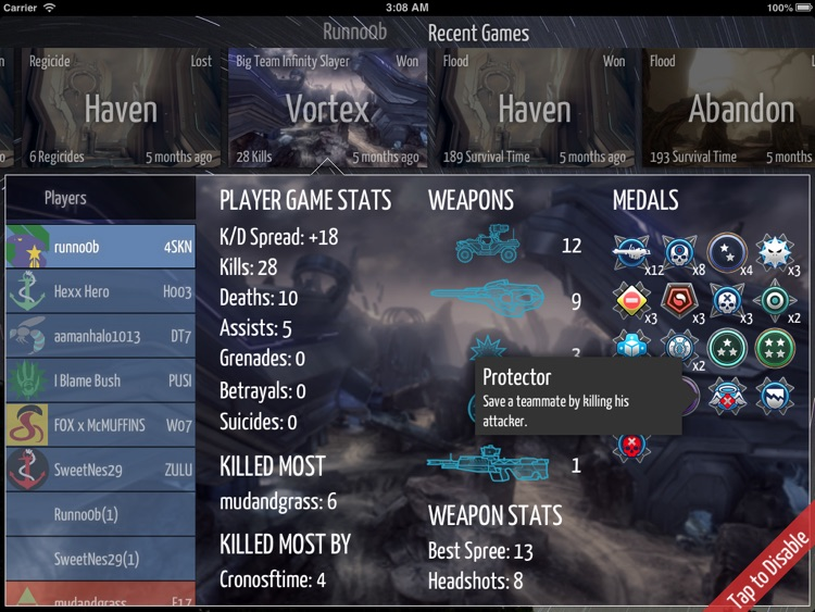 Spartan Stats HD screenshot-4